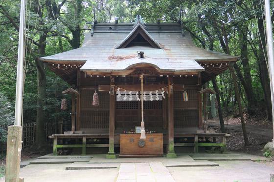 埼玉県鳩峯八幡神社の本殿