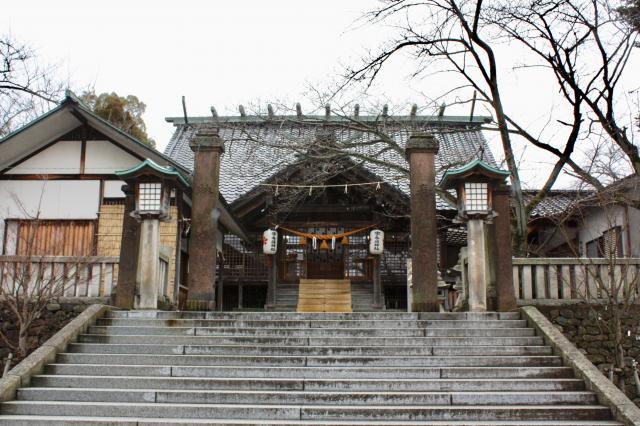 石川県宇多須神社の写真