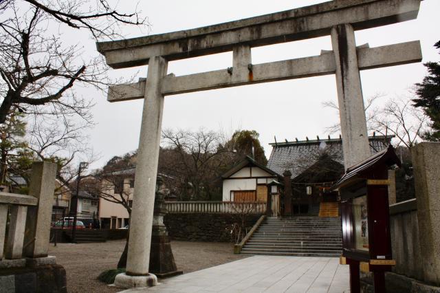 石川県宇多須神社の本殿