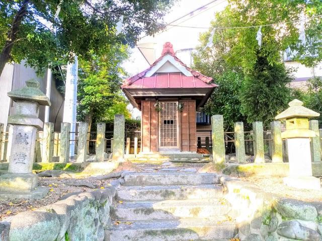 秋葉社の本殿