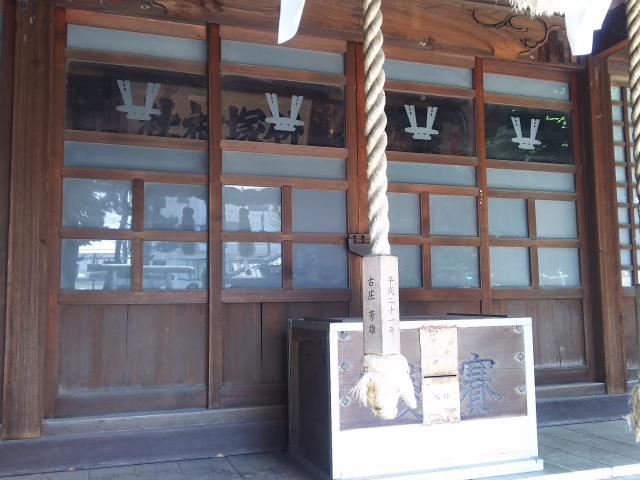 東京都竹塚神社の本殿
