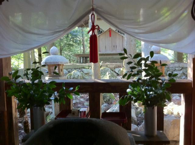 貴船神社の近くの神社お寺|由岐神社