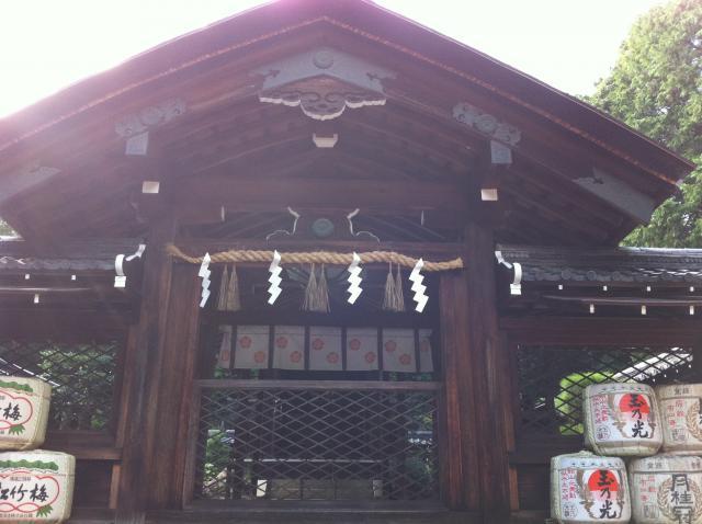 京都府建勲神社の本殿