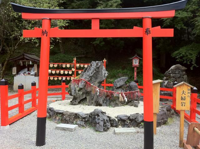 京都府出雲大神宮の鳥居