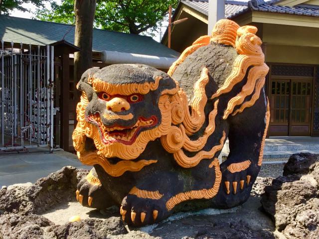 天祖神社の狛犬
