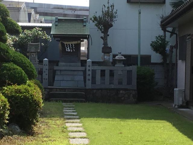 上一色日枝神社の本殿