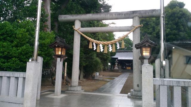 栃木県星宮神社の鳥居