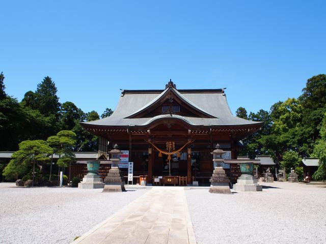 栃木県白鷺神社の本殿