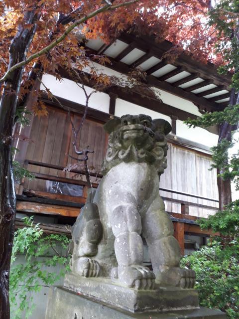 平岸天満宮・太平山三吉神社の狛犬
