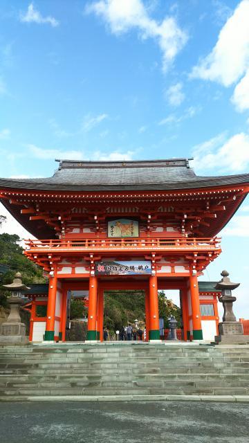 宮崎県鵜戸神宮の本殿