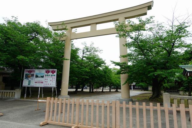 大阪護國神社(大阪府住之江公園駅) - 鳥居の写真