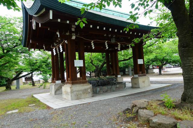 大阪護國神社(大阪府住之江公園駅) - 手水舎の写真