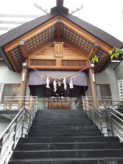 北海道札幌祖霊神社の本殿