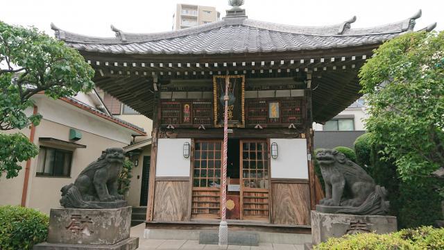 東京都南谷寺の本殿