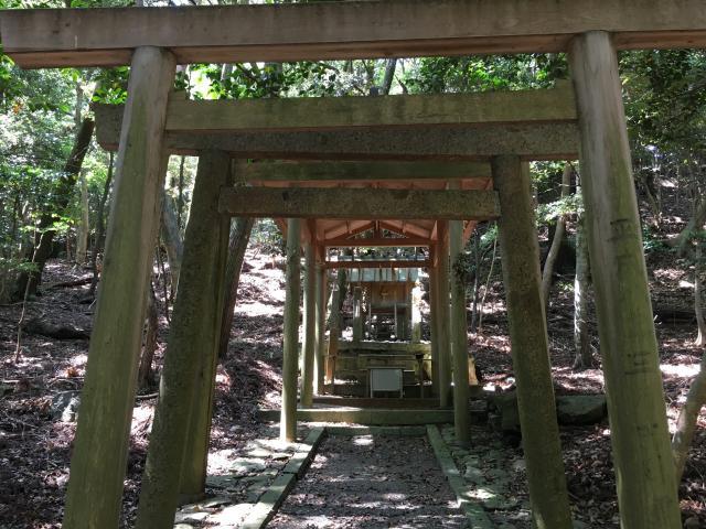 五本松神社の鳥居