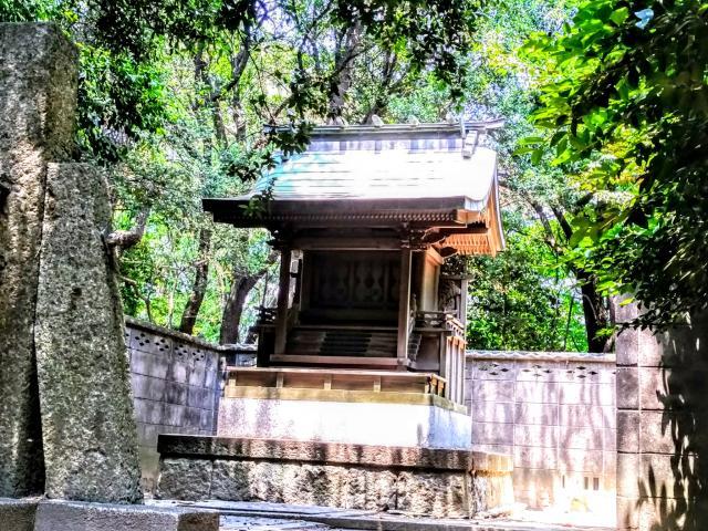 愛知県八幡社(木庭八幡社)の本殿