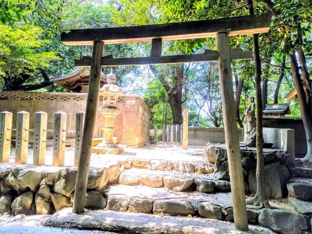 愛知県八幡社(木庭八幡社)の鳥居