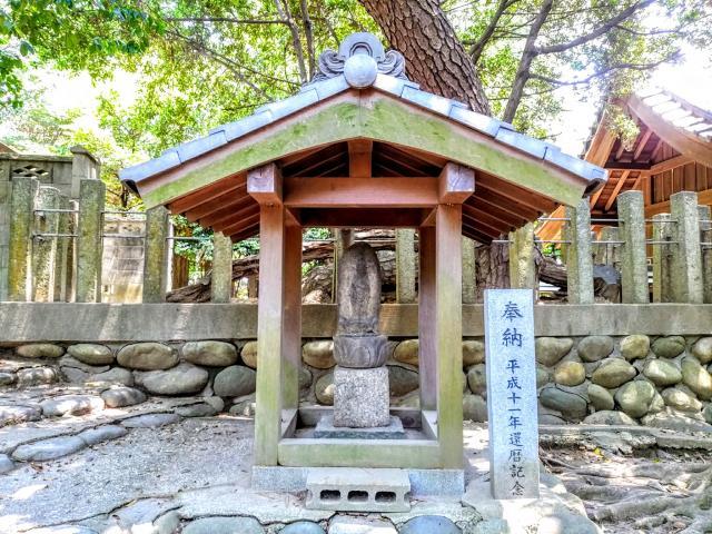 八幡社(木庭八幡社)の仏像