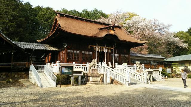 手力雄神社の本殿
