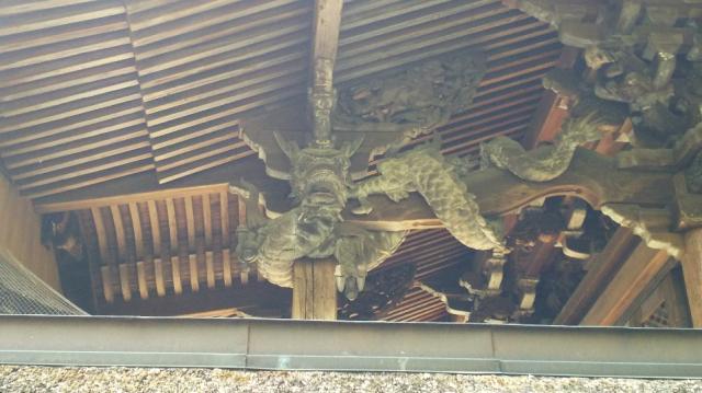 手力雄神社の芸術