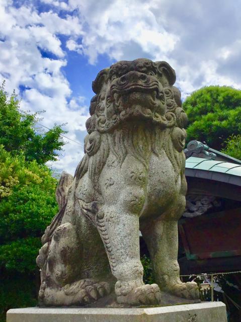 玉姫稲荷神社の狛犬