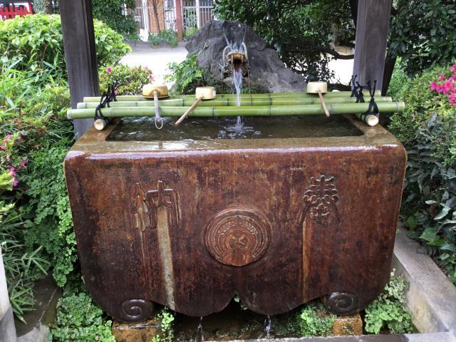 玉姫稲荷神社の手水