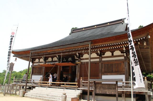 滋賀県観音正寺(観音寺)の本殿
