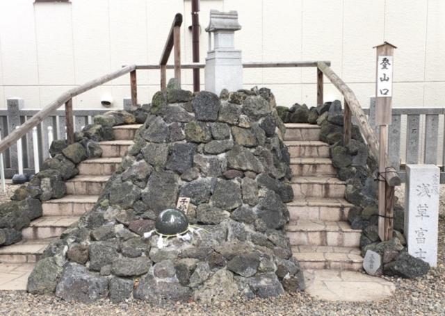 東京都浅草富士浅間神社の本殿