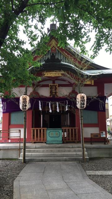 浅草富士浅間神社の本殿