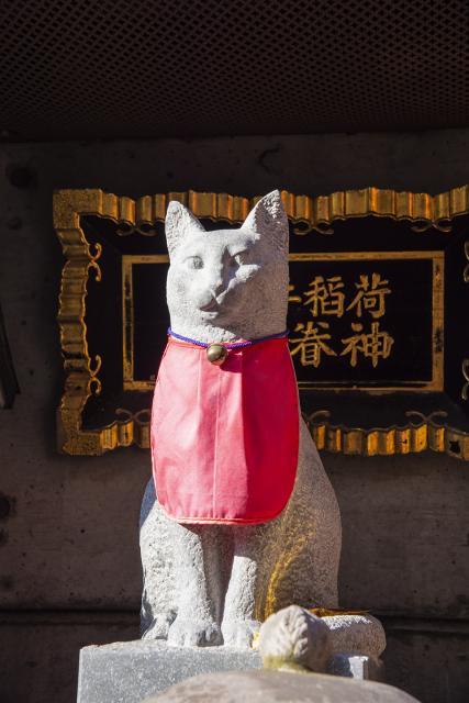 美喜井稲荷の狛犬