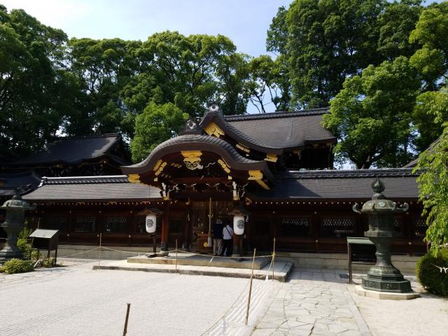 京都府今宮神社の本殿