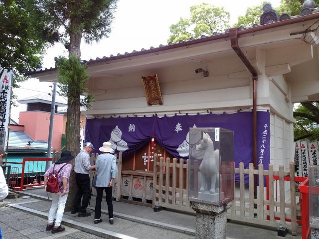 岐阜県千代保稲荷神社の本殿