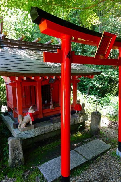 奈良県平等寺(三輪山平等寺)の本殿