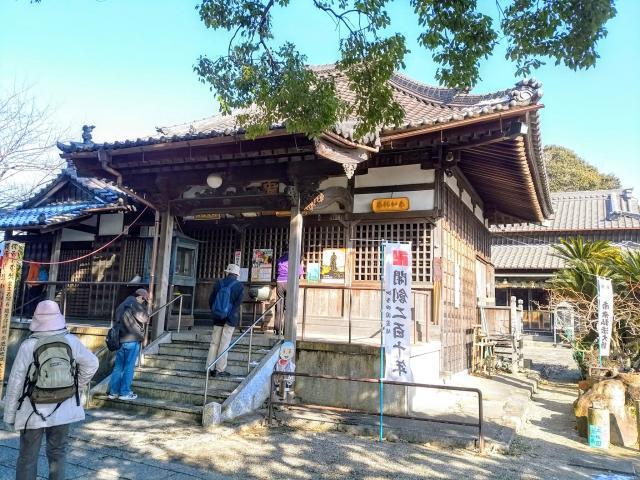 愛知県大悲山 觀音寺の本殿