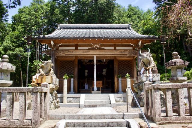 滋賀県天神社の本殿