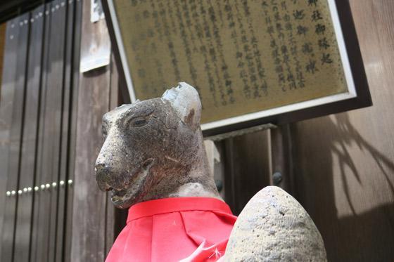 箭弓稲荷神社の狛犬