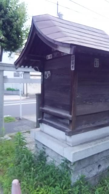 虎斑稲荷神社の本殿