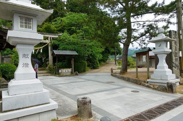 飛鳥坐神社(奈良県)