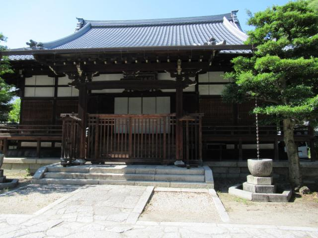 京都府天性寺の本殿