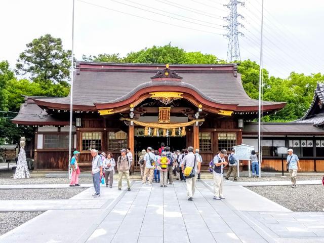 田縣神社の本殿