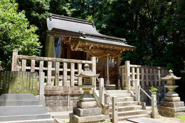 滋賀県阿賀神社の本殿