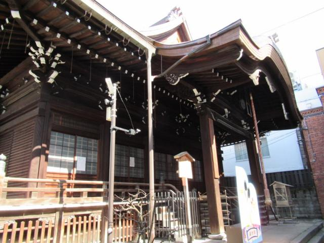京都府誠心院の本殿