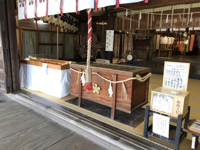 富山県高岡関野神社の本殿