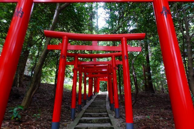 高鴨神社(奈良県北宇智駅) - 鳥居の写真
