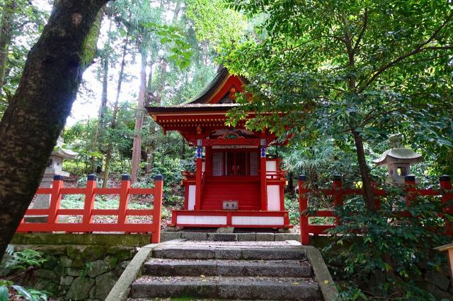 高鴨神社(奈良県北宇智駅) - 末社・摂社の写真