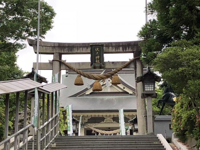 富山県伏木神社の鳥居