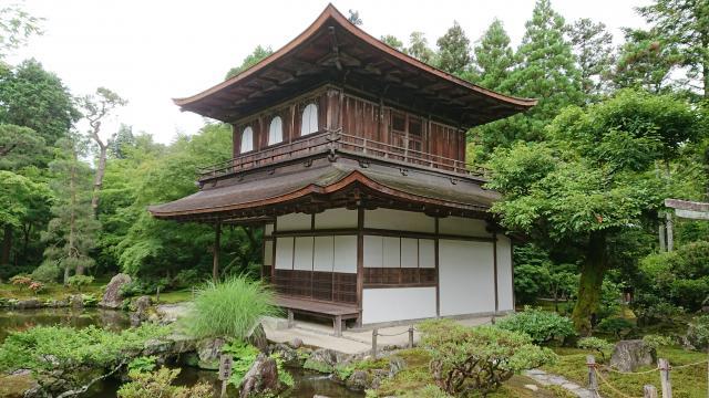 京都府慈照寺(銀閣寺)の本殿