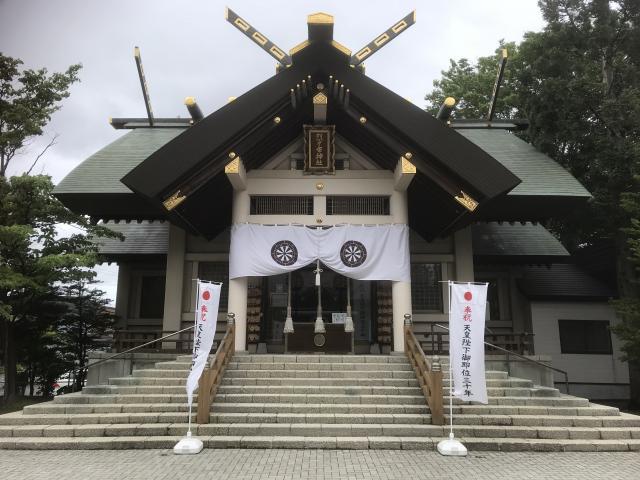 北海道烈々布神社の本殿