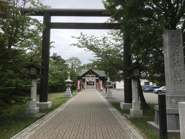 北海道烈々布神社の鳥居