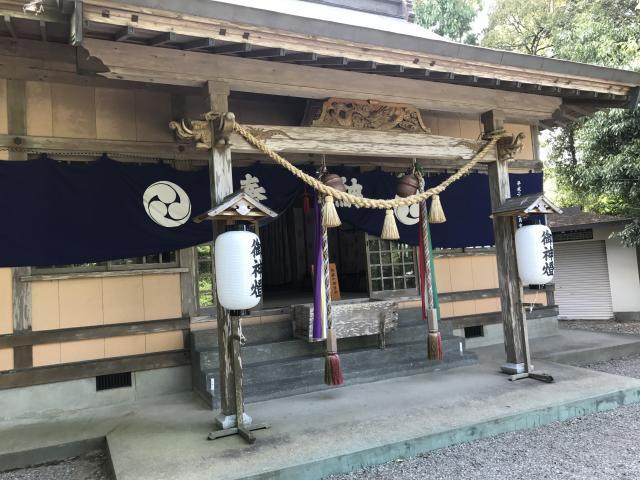 五十猛神社の本殿